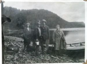 Knut, Hjørdis, Mary og...