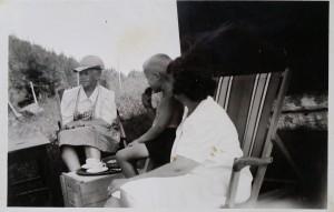 Mary, Mathias og Hjørdis 1941